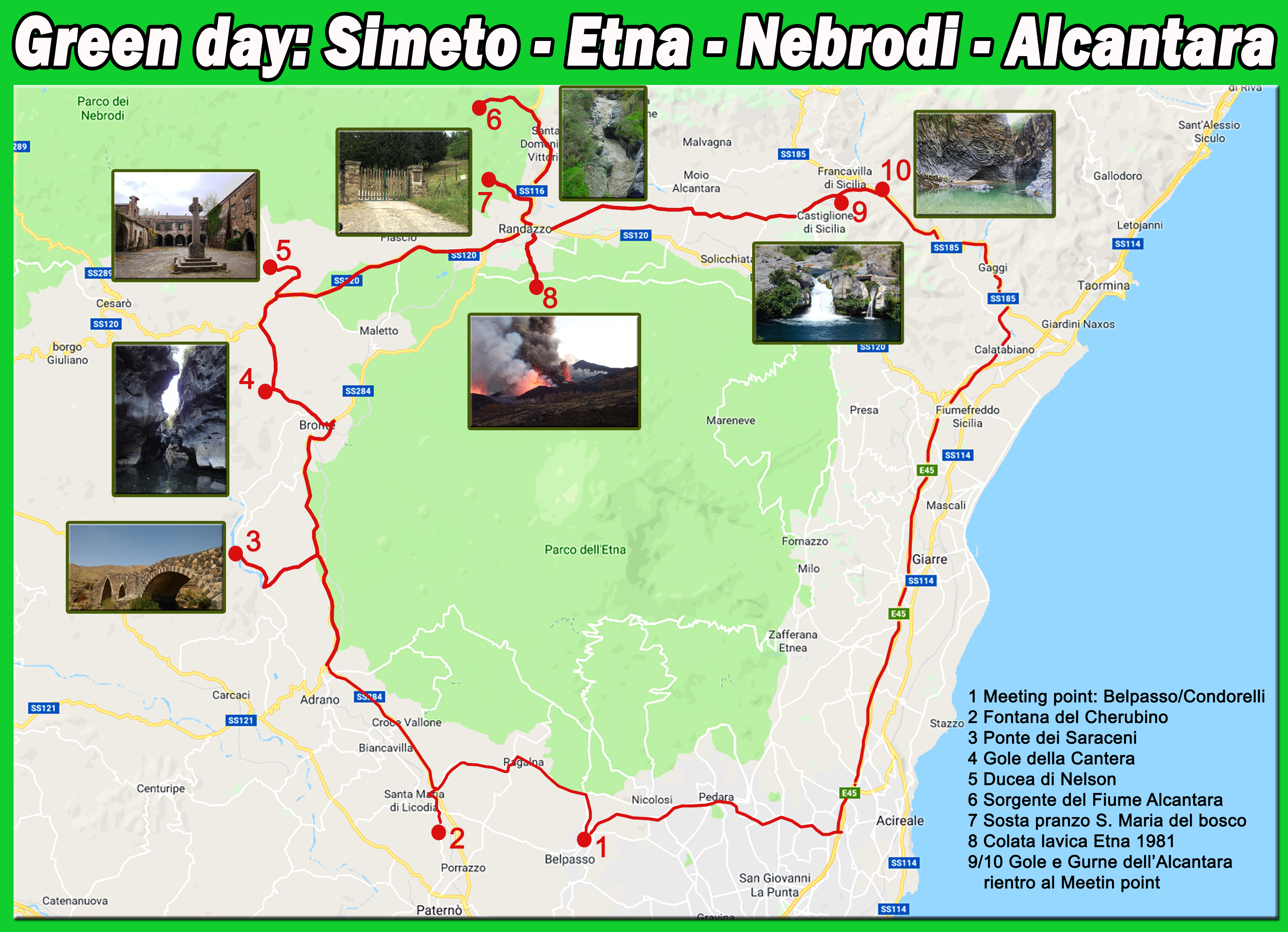Simeto Nebrodi Etna e Alcantara